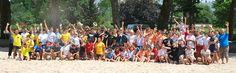 Equipes du beach Rugby Tour à Brive la Gaillarde en 2010