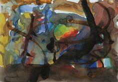 Gerhard Richter,   Sans titre, aquarelle (2.1.1978), Olbricht Collection, http://www.gerhard-richter.com/art/watercolours/detail.php?paintid=13492#