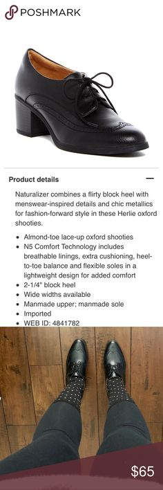 🔥NATURALIZER HERLIE! IM IN LOVE with these little booties but they're a bit too big for me 😭 only worn once to try on ! Size 7. Please see pictures for details! Comes with its original box! They're just as comfy as my Uggs but they make you look really put together and slim ! I already ordered a new one in my size 😎 Naturalizer Shoes Ankle Boots & Booties