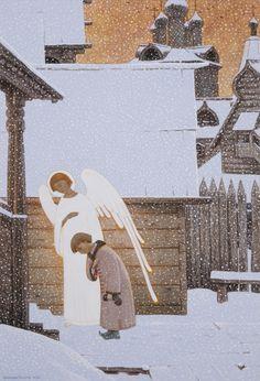 Aleksandr Prostev, Din viata Sfantului Serghie de Radonej, Biserica din copilarie a lui Bartolomeu