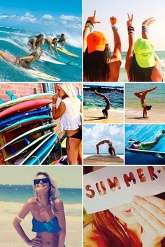 Summer icons fashion cute summer beach ocean fun girls surf >>>>>> WHY DOES THIS MAKE ME SO HAPPY. YUPP IM GOIN TO CABO <3 -kylie