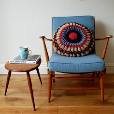 Image of Vintage Furniture - Ercol Armchair Model / decoration