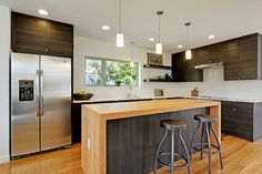 Georgia - contemporary - kitchen - seattle - Green Canopy Homes