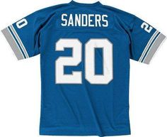 Detroit Lions Barry Sanders Premier Throwback Team Color Jersey
