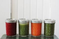 4 Healthy Juicing Recipes (The Merrythought)