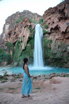 Havasu Falls in Havasupai Arizona; how to get there!
