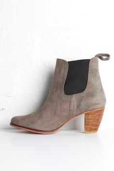SanCerre Walk With Me Boot in Dove. Available online March 13. www.sancerre.com.au #boots Best Yet, Chelsea Boots, Winter Outfits, March, Walking, Ankle, Clothes For Women, Clothing, Shoes