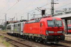 Trains and locomotive database and news portal about modern electric locomotives, made in Europe. Db Ag, Electric Train, Electric Locomotive, German, The Unit, Adventure, Europe, Levitate, Deutsch