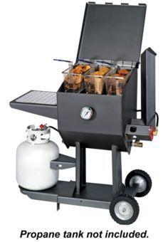 kitchener triple basket deep fryer white backsplash kitchen 15 best images 179 cajun by r v works 8 5 gallon propane cooker bass pro