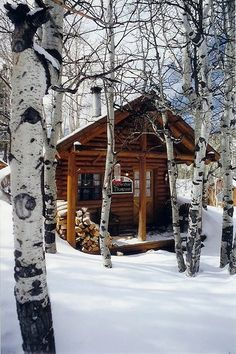 Cabins And Cottages: little bitty dwelling Snow Cabin, Winter Cabin, Cozy Cabin, Guest Cabin, Tiny Cabins, Cabins And Cottages, Log Cabins, Little Cabin, Mountain Homes