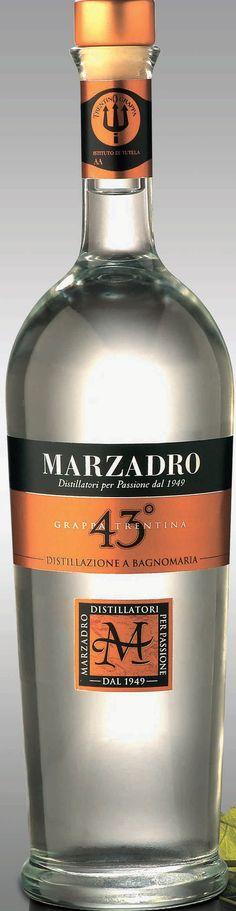 Vendita online | Grappa Marzadro 43° Bott. da Cl. 70 conf. da 6 - Gastronomia - Prodotti Italiani