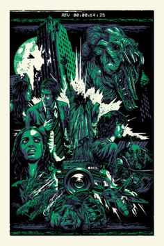 "Cloverfield - Alexander Iaccarino ---- Gallery 1988: West -- ""The Official Bad Robot Art Experience"""