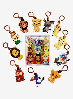 Disney Best Friends Figural Bag Clip Series 20 3 Inch Sulley