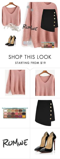 """""""Untitled #48"""" by rosalija ❤ liked on Polyvore featuring Christian Louboutin, TC Fine Intimates, Graff and Miss Selfridge"""