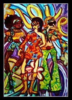 Yucca Rose-The 70's-Hippie Girls