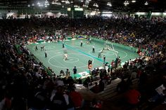 Home-  The New Castle Fieldhouse in Indiana is the largest high school basketball arena in the country, with seating for over 9,000.