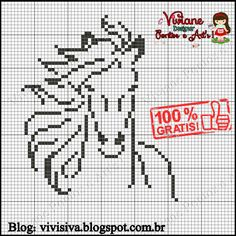 Cross Stitch Art, Cross Stitch Animals, Counted Cross Stitch Patterns, Lilly Doll, American Indian Crafts, Knitting Paterns, Pixel Image, Horse Pattern, Animal Quilts