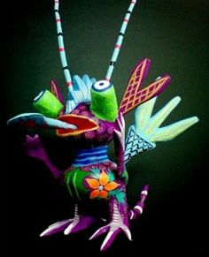 Mexico: Alebrijes I LOVE THIS
