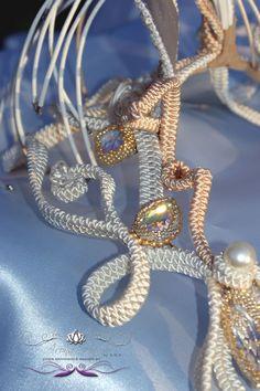 Metamorphosis Collection 2015  Vol dÁmour necklace - Details http://www.facebook.com/haryodesign #aronaharyo #beadartist #beadart #artdeco #beading #fairie #fairies #love #handmade #hautecouture #holidaygifts #gifts #soutacheaccesories #embroidery #wearableart
