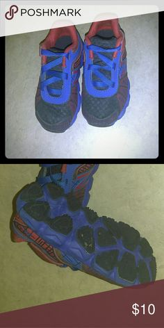 Sneakers Comfortable pretty black Spider-Man sneakers with blue  and red design. new Shoes Sneakers