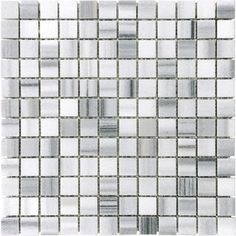 Anatolia - Honed Fluid Mosaics - 1 Inch x 1 Inch - 76-334 - Home Depot Canada