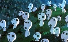 The Kodama, Princess Mononoke