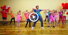 Zumba Kids (easy dance) I like to move it fitnees routine Yoga For Kids, Exercise For Kids, Kids Workout, Zumba Fitness, Chico Yoga, Easy Dance, Zumba Kids, Physical Activities For Kids, Kids Moves