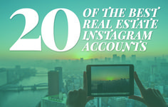 Want to use Instagram for real estate, agents? Check out these 20 stellar accounts from industry pros worldwide to get expert Instagram marketing tips. http://plcstr.com/1Z9N1wQ #realestate #instagram