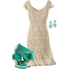 Fashion outfit clothing combination with crochet dress in hippie boho bohemian gypsy style. For more followwww.pinterest.com/ninayayand stay positively #pinspired #pinspire @ninayay