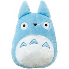 Chu-Totoro Cushion ❤ liked on Polyvore featuring home, home decor, throw pillows and polyester throw pillows