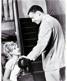 Sondra Locke & Alan Arkin In, 'The Heart is a Lonely Hunter', 1968.