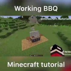 Video Minecraft, Minecraft Farm, Easy Minecraft Houses, Minecraft Plans, Minecraft House Designs, Minecraft Decorations, Minecraft Construction, Amazing Minecraft, Minecraft Tutorial