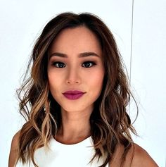 These 9 Instababes Will Show You How to Work Fall's Hottest Lipstick Trend via Brit + Co.