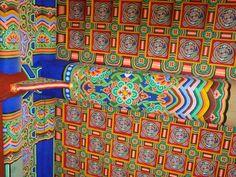 71 Featured Travel Photos of South Korea - Travellerspoint Travel Photography South Korea, Travel Photos, Travel Photography, Ceiling, Folk, Korean, Painting, Colour, Color