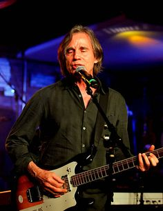 Jackson Browne performs at Lucky Strike Live on May 11 2016 in Hollywood California