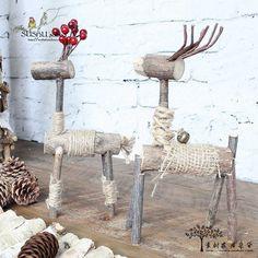 {Su Shu} смешанные товары Рождественский олень творческий подарок дерево / лошадь / дом садовые шкафы Украшение - Taobao