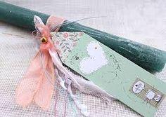 Αποτέλεσμα εικόνας για χειροποιητη πασχαλινη λαμπαδα Easter Ideas, Easter Crafts, Craft Stalls, Candels, Handmade Candles, Candle Making, Happy Easter, Diy And Crafts, Easter Candle
