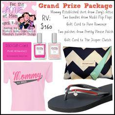 #LoveForMom Giveaway Hop GRAND PRIZE! Ends 4/21