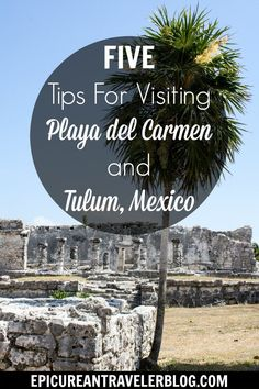 """Visiting Playa del Carmen, Mexico? Get five travel tips for your visit from this gues post by Meg D. Gonzalez, author of YA travel novel """"Sketchy Tacos,"""" today on EpicureanTravelerBlog.com!"""