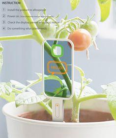 High tech gadget for plants
