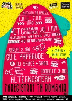 Alternosfera, Suie Paparude, C.T.C., Subcarpati la Inregistrat In Romania