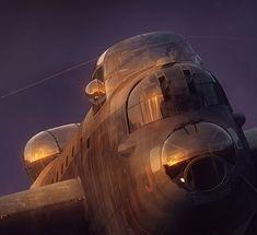 A Terrifying Beauty Ww2 Aircraft, Military Aircraft, Graven Images, Military Flights, Lancaster Bomber, Mechanical Art, Aircraft Design, Aeroplanes, Aviation Art