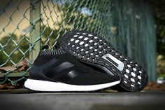 adidas Ace 16+ PureControl Ultra Boost Black White Oreo Beckham UK Trainers 2017/Running Shoes 2017