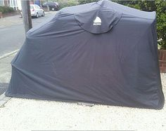 Folding motorcycle motorbike cover weatherproof bike cover - Motorcycle foldable garage tent cover ...
