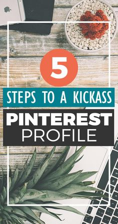 Want to drive traffic to your blog from Pinterest? The foundation of a kickass Pinterest account that drives traffic to your blog is a polished Pinterest profile! Give your Pinterest profile a makeover with these 5 easy steps. PLUS get a FREE downloadable checklist! Social Media Tips, Social Media Marketing, Marketing Strategies, Business Marketing, Digital Marketing, Make Money Blogging, How To Make Money, Blogging Ideas, Rich Pins