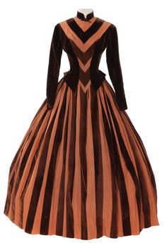 Costume designed by Walter Plunkett for Jennifer Jones in Madame Bovary (1948).  From Profiles in History