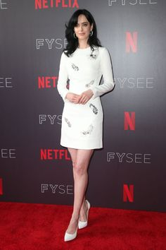 Krysten Ritter, Jessica Jones, Celebs, Celebrities, Celebrity Style, Dresses For Work, Actresses, Female, Women