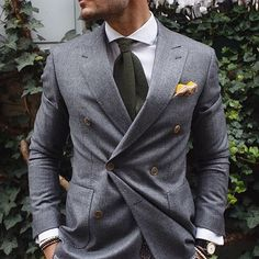 Dapper combination via Justusf Hansen || Gentleman's Bespoke inspiration