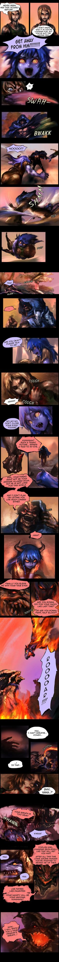 Shyvana~ The Half Dragon Tale. Page 5/6 by ptcrow.deviantart.com on @DeviantArt