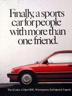 Honda Civic ad.  #Honda #HondaCivic #HondaCars